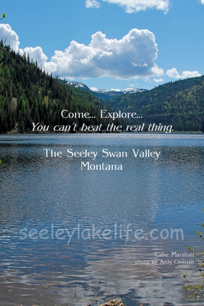Lake Marshall, Come... Explore... You can't beat the real thing.  The Seeley Swan Valley, Montana.  Lake Marshall is on state land in the Marshall Creek Wildlife Management Area.