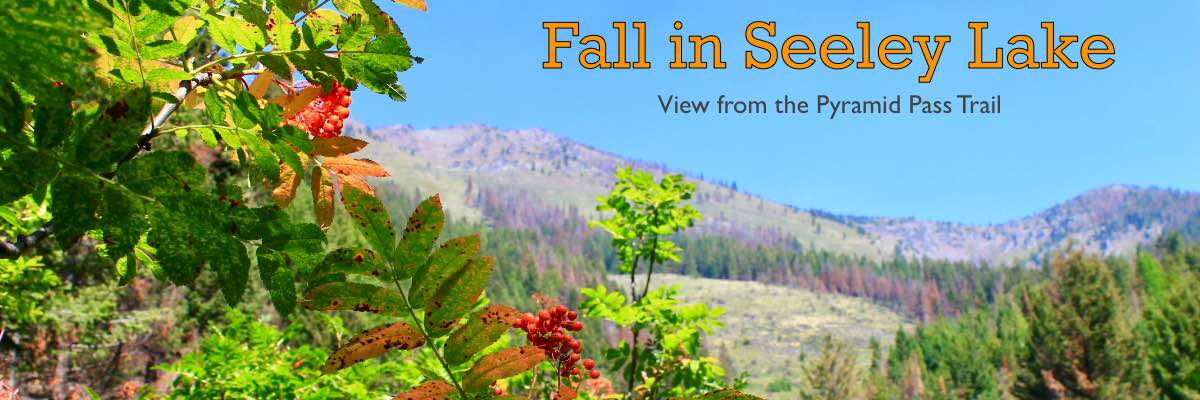 Fall in Seeley Lake - Picture taken on the Pyramid Pass trail