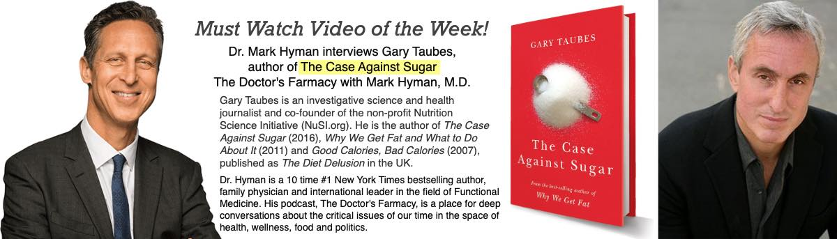 Gary Taubes is one of the most accomplished health journalists in the world. He is the author of 'The Case Against' Sugar' (2016). Published to youtube Aug. 1, 2018