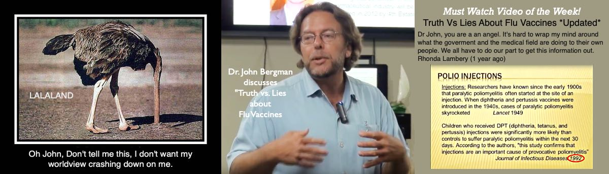 Truth vs. Lies About Flu Vaccines *Updated* by Dr. John Bergman. Stop the madness!  Learn the truth and educate yourself about the risks.
