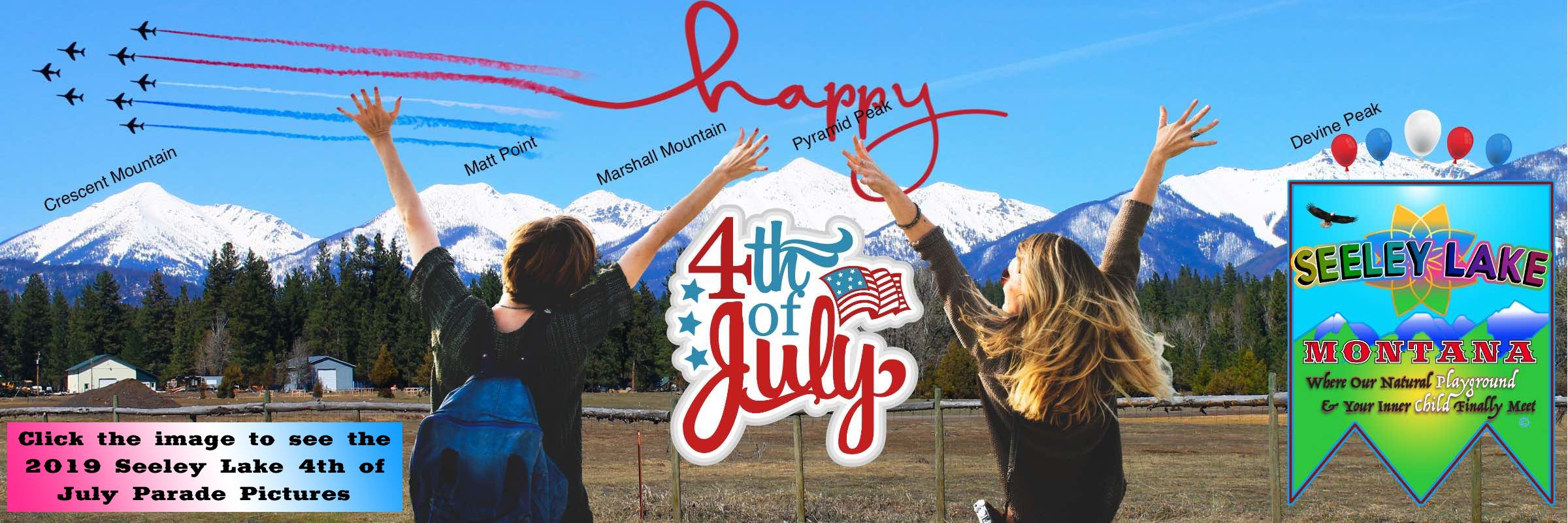 Seeley Lake Montana 2019 4th of July Parade Pictures | Happy 4th of July 2019