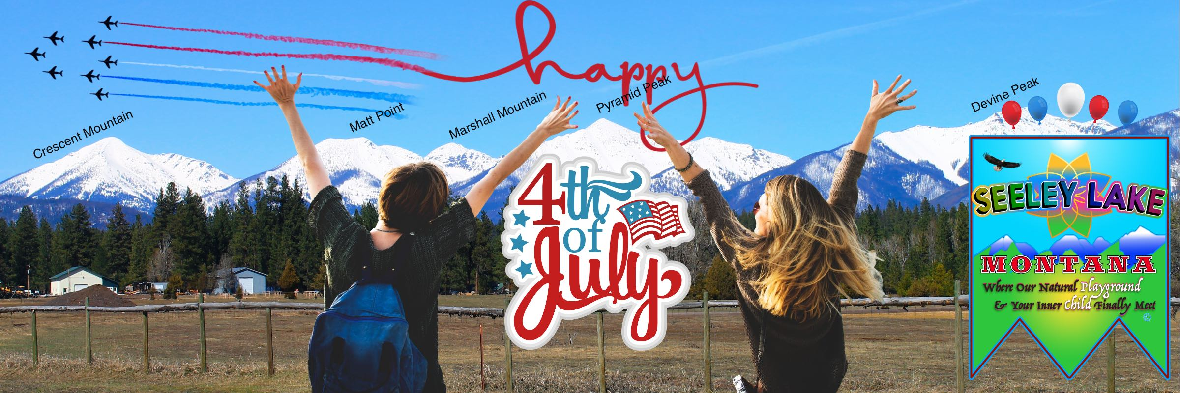 Seeley Lake Montana 2019 4th of July Parade | Happy 4th of July 2019