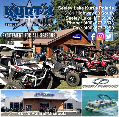Kurt's Polaris - Excitement for All Seasons - 3181 Hwy 83 South - Seeley Lake, MT 59868 - 406-677-2833