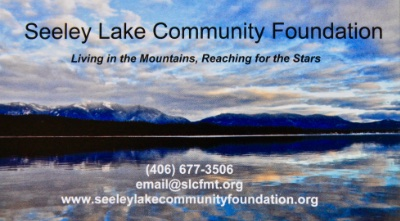Seeley Lake Community Foundation; Living in the Mountains - Reaching for the Stars; P.O. Box 25 Seeley Lake MT 59868, 406-677-3506