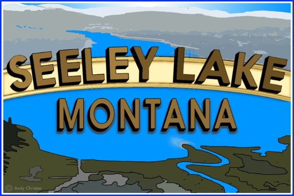 Seeley Lake Montana Logo Icon