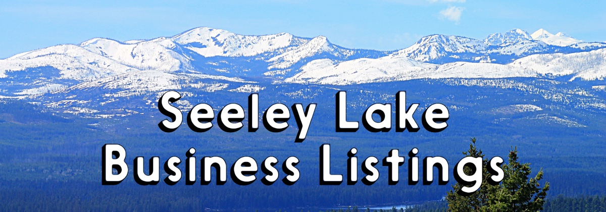 Seeley Lake Montana Business Listings - Mission Mountains in the background