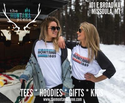 The Montana Scene - Tees - Hoodies - Gifts - Kids - Bigfork, Kalispell, Whitefish, Bozeman, Missoula