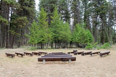 Big Larch Nature Trail Interpretive Area, Seeley Lake, MT