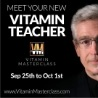 Vitamin Masterclass hosted by Andrew Saul PhD.